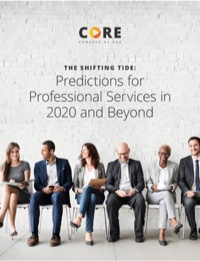 Predictions for Professional Services in 2020 and Beyond